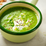 Creamy Pea and Watercress Soup